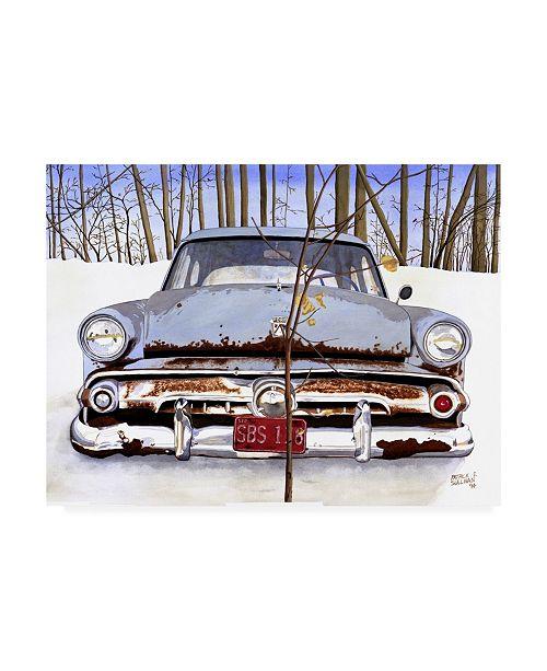 "Trademark Global Patrick Sullivan 54 Ford Canvas Art - 36.5"" x 48"""