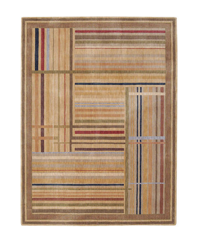 CLOSEOUT! Nourison Rugs, Somerset ST17 Lines Multicolor