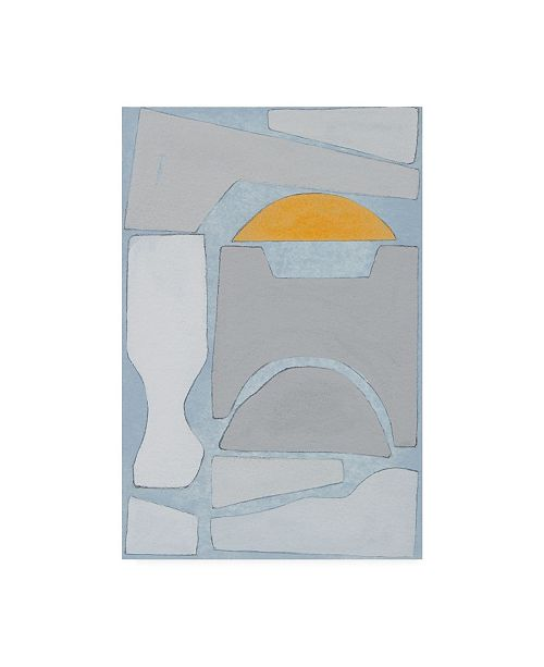 """Trademark Global Rob Delamater Elements of the Chateau V Canvas Art - 27"""" x 33.5"""""""