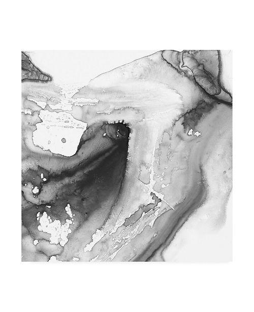 "Trademark Global Ethan Harper Smoke and Water IV Canvas Art - 15.5"" x 21"""