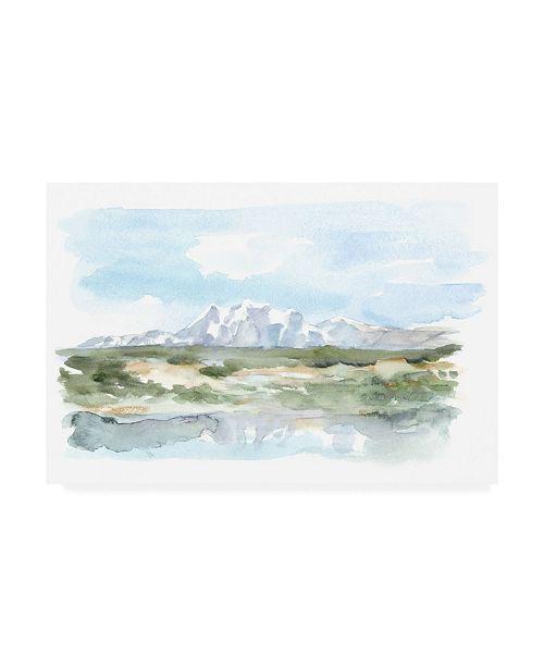 "Trademark Global Ethan Harper Mountain Watercolor II Canvas Art - 27"" x 33.5"""