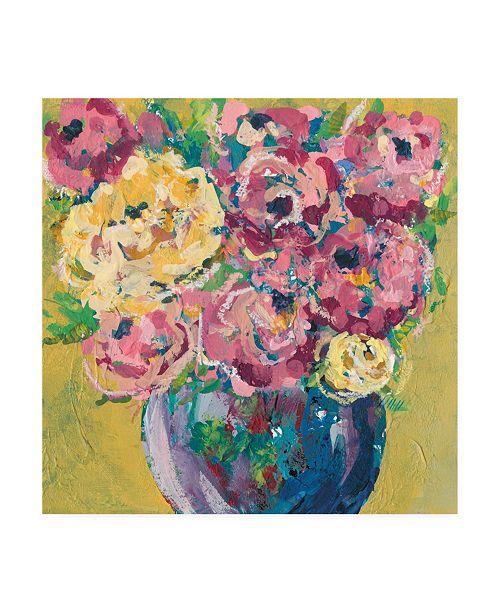 "Trademark Global Regina Moore Chaos Floral V Canvas Art - 19.5"" x 26"""