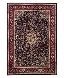"Oriental Weavers Area Rug, Ariana Navy Ardebil 9B 5' 3"" x 7' 9"""