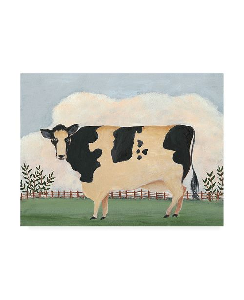 "Trademark Global Regina Moore Folk Farm II Canvas Art - 15.5"" x 21"""