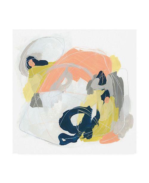 "Trademark Global June Erica Vess Crosstown Connector I Canvas Art - 15.5"" x 21"""
