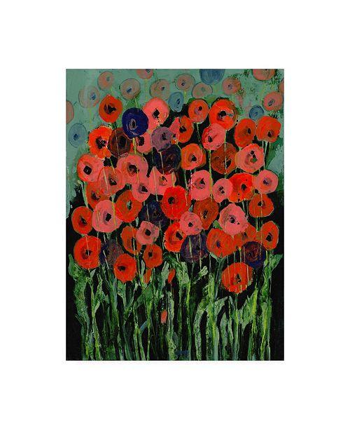 """Trademark Global Tara Daavettila All That Jazz Garden III Canvas Art - 15.5"""" x 21"""""""