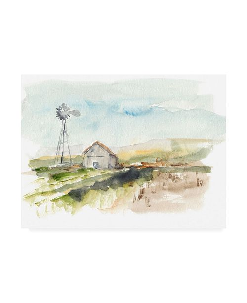 "Trademark Global Ethan Harper Rural Plain Air II Canvas Art - 27"" x 33.5"""