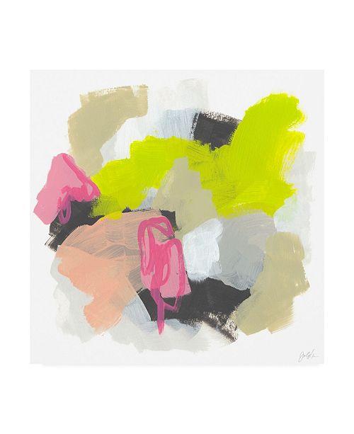 "Trademark Global June Erica Vess Capriccio II Canvas Art - 15.5"" x 21"""