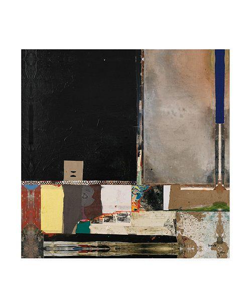 "Trademark Global Michel Keck Getting Even Canvas Art - 15.5"" x 21"""