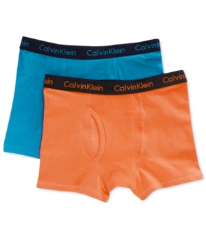 Calvin Klein 2-Pack Boxer Briefs,  Little Boys (2-7) & Big Boys (8-20)