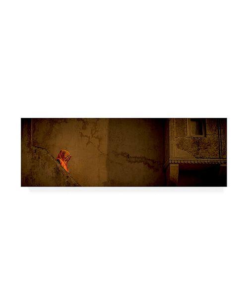 "Trademark Global Dan Ballard Steps Wall Canvas Art - 36.5"" x 48"""