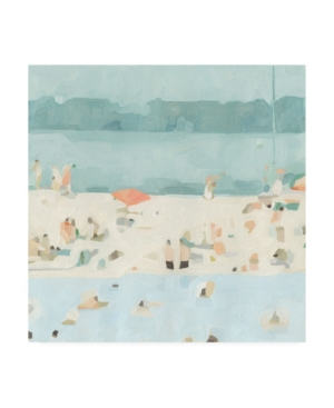 Emma Scarvey Sea Glass Sandbar Ii Canvas Art - 15.5