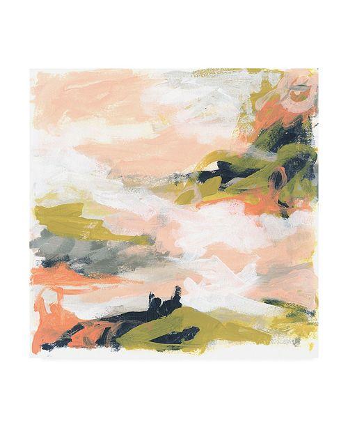 "Trademark Global June Erica Vess Blush and Navy Vista I Canvas Art - 36.5"" x 48"""