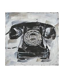 "Ethan Harper Retro Phone I Canvas Art - 19.5"" x 26"""