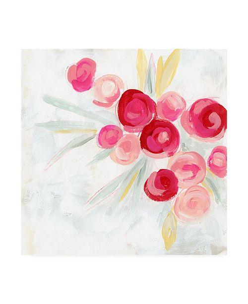 "Trademark Global June Erica Vess Rosebud Impression I Canvas Art - 19.5"" x 26"""