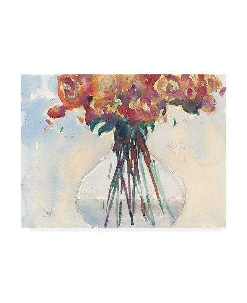 "Trademark Global Samuel Dixon Faded Roses II Canvas Art - 15.5"" x 21"""
