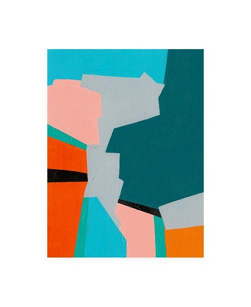"""Trademark Global Regina Moore Reunification I Canvas Art - 27"""" x 33.5"""""""