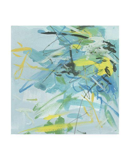 "Trademark Global Melissa Wang Summer Symphony II Canvas Art - 19.5"" x 26"""