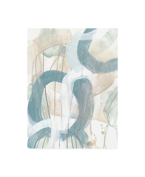 """Trademark Global June Erica Vess Water Orbit II Canvas Art - 15.5"""" x 21"""""""