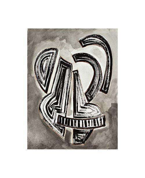 "Trademark Global Rob Delamater Etruscan Vessel I Canvas Art - 36.5"" x 48"""