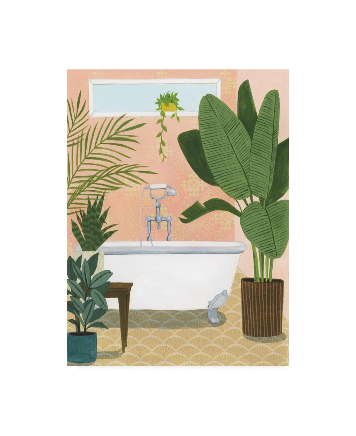 Grace Popp Bathtub Oasis I Canvas Art - 15.5