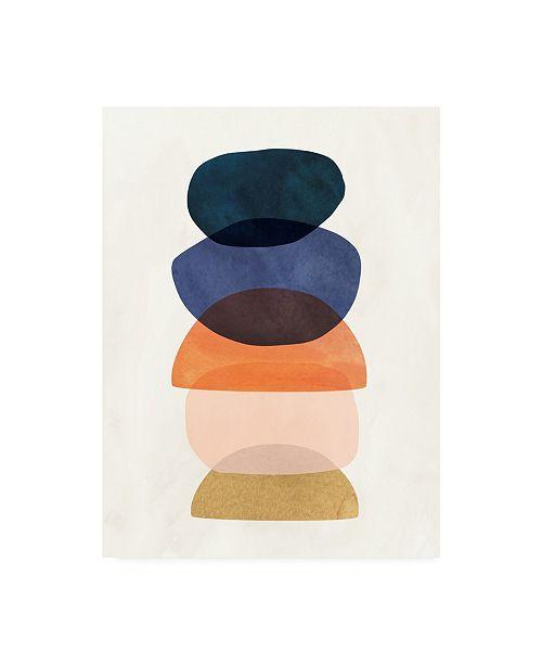 "Trademark Global Victoria Borges Mod Pods I Canvas Art - 27"" x 33.5"""