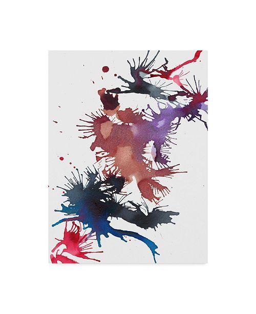 "Trademark Global Jodi Fuchs Fireworks II Canvas Art - 37"" x 49"""