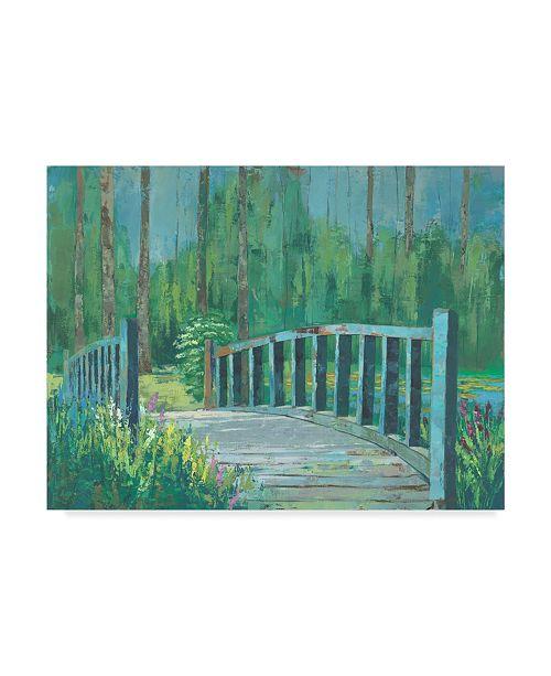 "Trademark Global Julie Joy A River Crossing I Canvas Art - 37"" x 49"""