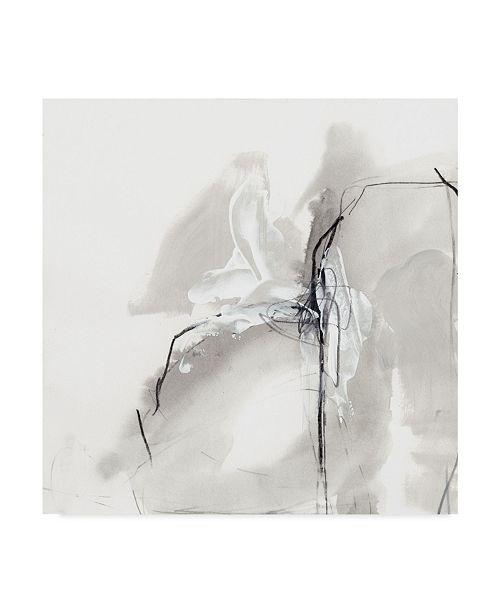 "Trademark Global June Erica Vess Monochrome Gestures I Canvas Art - 27"" x 33"""