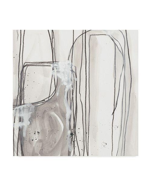 "Trademark Global June Erica Vess Abstract Logic I Canvas Art - 27"" x 33"""