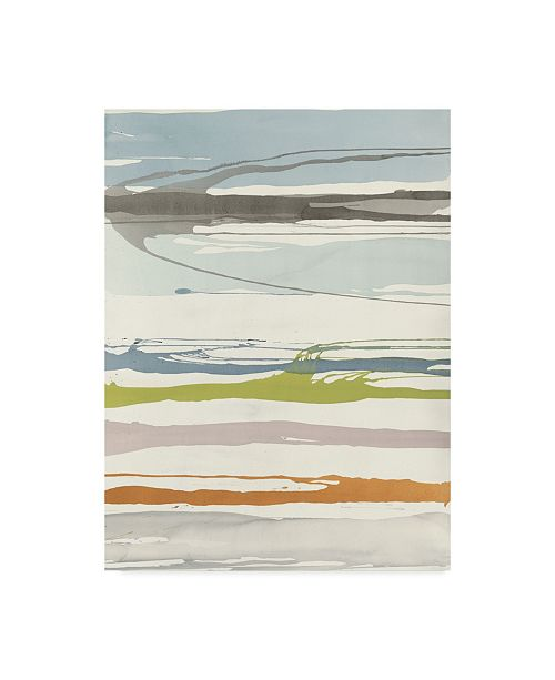 """Trademark Global Rob Delamater Watching For First Light Canvas Art - 37"""" x 49"""""""