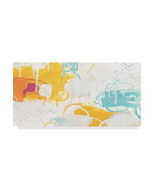 "Trademark Global June Erica Vess Playful Color I Canvas Art - 37"" x 49"""