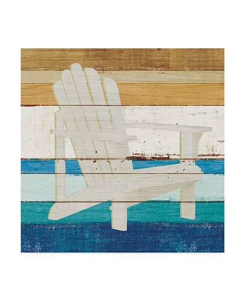 "Trademark Global Michael Mullan Beachscape IV Canvas Art - 27"" x 33"""