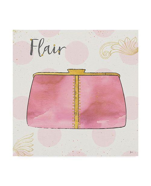 """Trademark Global Jess Aiken Fashion Blooms Ii Pink Canvas Art - 27"""" x 33"""""""