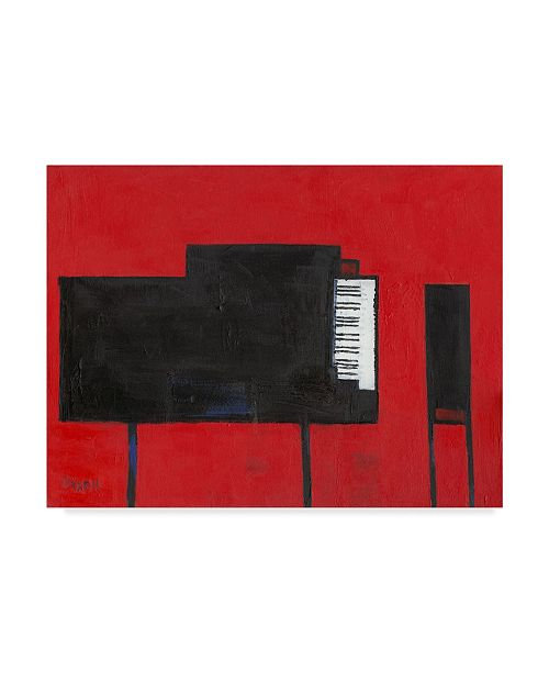 "Trademark Global Samuel Dixon The Piano Canvas Art - 20"" x 25"""
