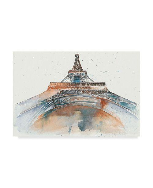 "Trademark Global Melissa Wang View of Eiffel I Canvas Art - 37"" x 49"""