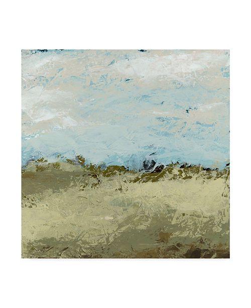 """Trademark Global June Erica Vess Green Fields I Canvas Art - 15"""" x 20"""""""