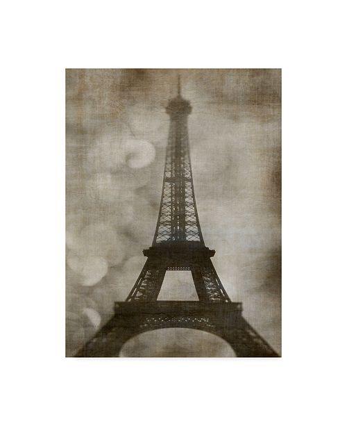 """Trademark Global Honey Malek Vintage Eiffel I Canvas Art - 37"""" x 49"""""""