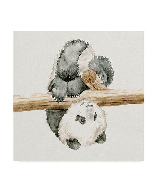 """Trademark Global Melissa Wang Baby Panda II Canvas Art - 27"""" x 33"""""""