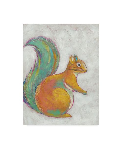 "Trademark Global Chariklia Zarris Woodland Friends I Canvas Art - 20"" x 25"""