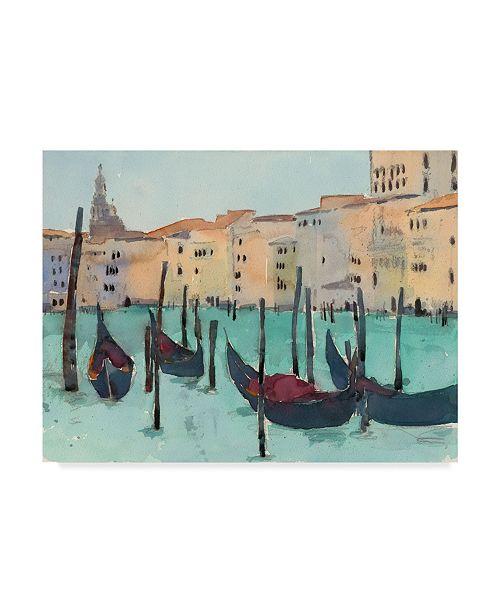 "Trademark Global Samuel Dixon Venice Plein Air VII Canvas Art - 37"" x 49"""