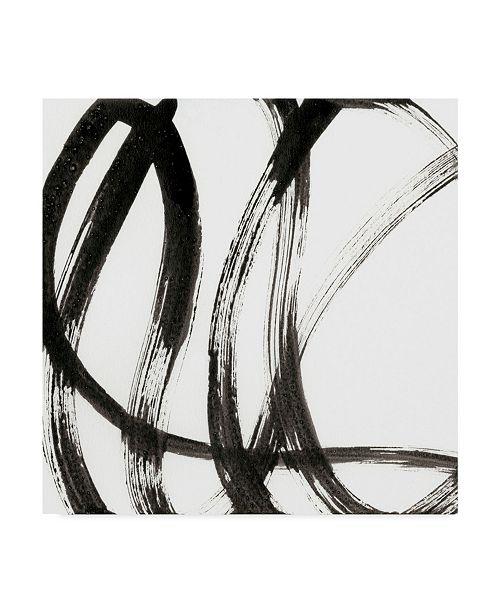 "Trademark Global J. Holland Linear Expression I Canvas Art - 27"" x 33"""