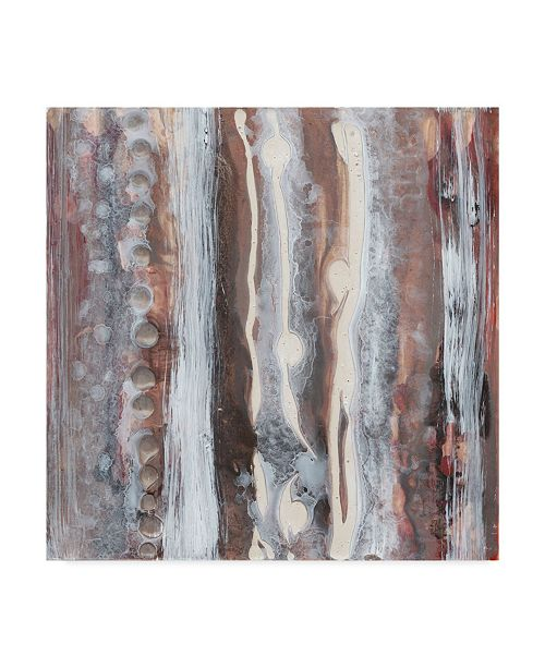 "Trademark Global Renee W. Stramel Surface Study I Canvas Art - 27"" x 33"""