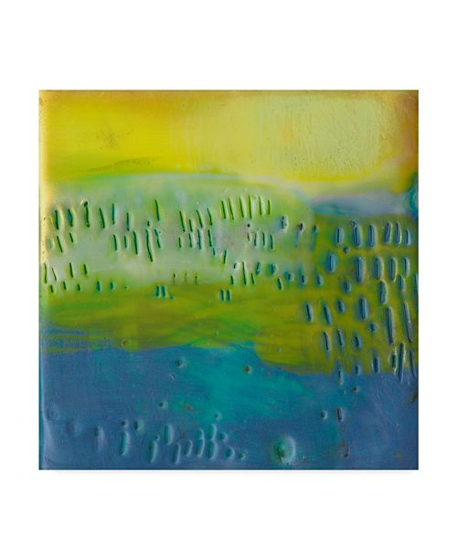 "Trademark Global Sue Jachimiec Southern Shores III Canvas Art - 15"" x 20"""