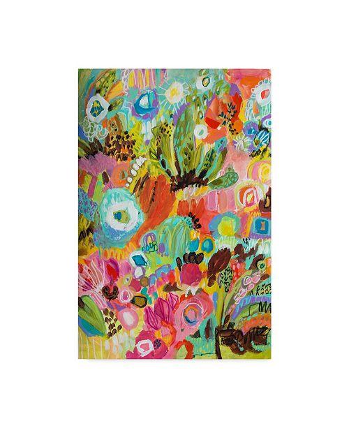 "Trademark Global Karen Fields Love to Travel I Canvas Art - 15"" x 20"""