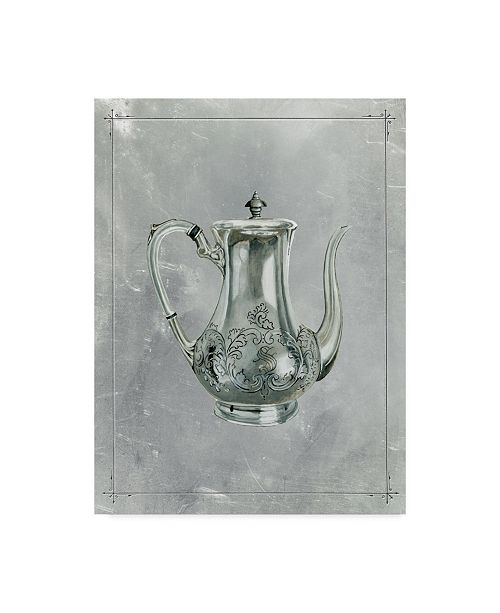 "Trademark Global Naomi Mccavitt English Silver I Canvas Art - 37"" x 49"""