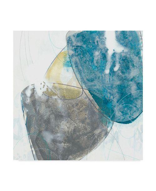 "Trademark Global June Erica Vess Stone Sweep I Canvas Art - 15"" x 20"""