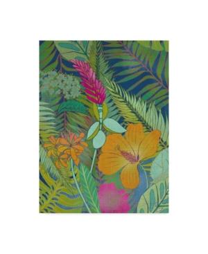 "Chariklia Zarris Tropical Tapestry Ii Canvas Art - 37"" x 49"""