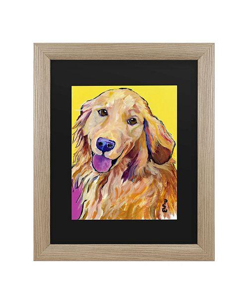 "Trademark Global Pat Saunders-White Molly Matted Framed Art - 37"" x 49"""