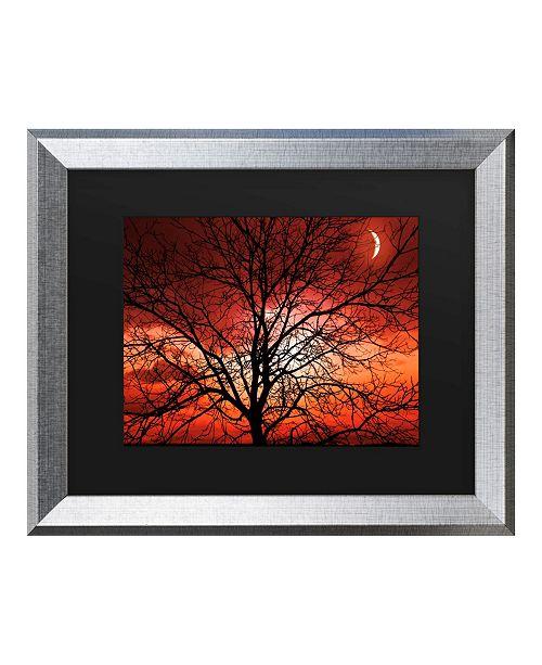 "Trademark Global Philippe Sainte-Laudy Big Bad Moon Matted Framed Art - 27"" x 33"""